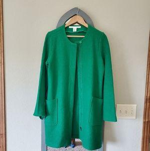 Kelly green Max Studio coat